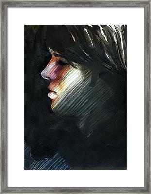 A Boy Named Rainbow Framed Print