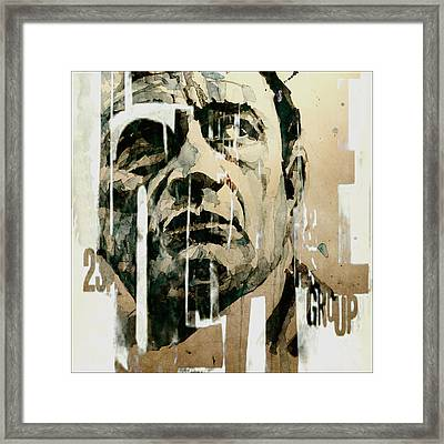 A Boy Named Sue Framed Print