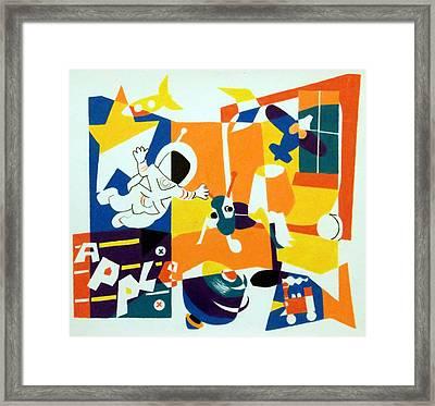 A Boys' Room Framed Print by Stephen Davis