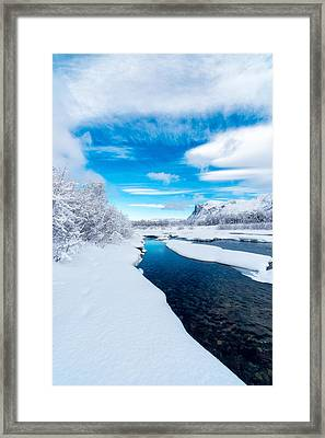 A Brand New Day Framed Print by Tor-Ivar Naess