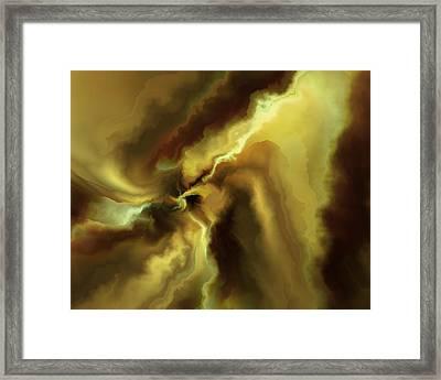 A Break In The Clouds Framed Print