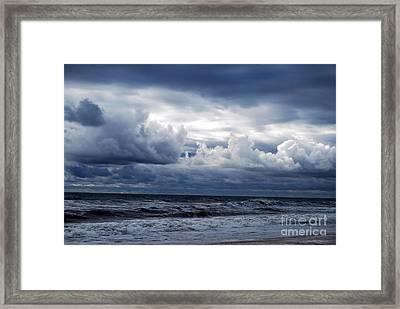 A Break In The Storm Framed Print by Linda Mesibov