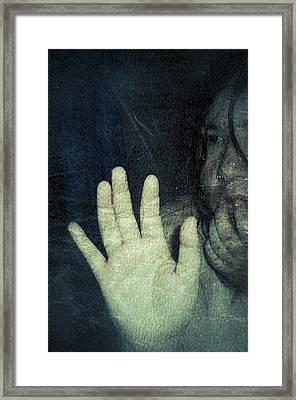 A Breath Of Hope Framed Print by Ana Isabel Martinez Lagunes