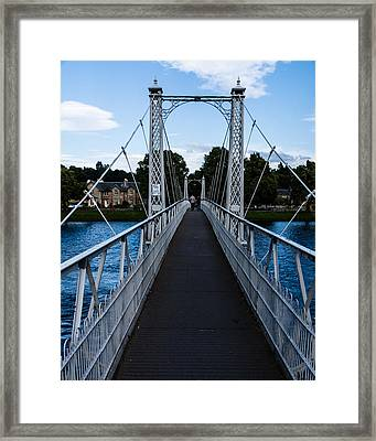 A Bridge For Walking Framed Print