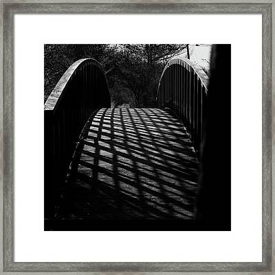 A Bridge Not Too Far Framed Print