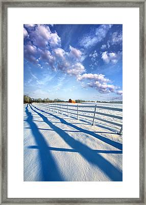 A Brief Appearance Framed Print by Phil Koch