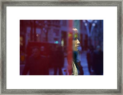A Brief Look Thats Enough Framed Print by Jez C Self