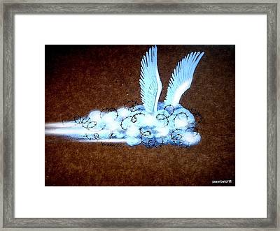 A Brief Yearning Of The Soul Framed Print by Paulo Zerbato