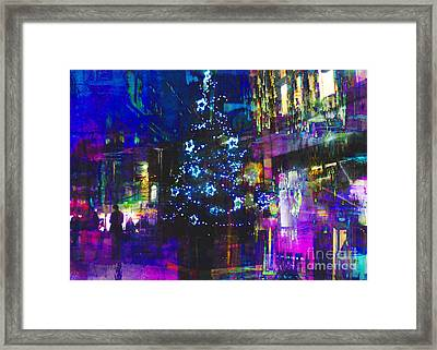 Framed Print featuring the photograph A Bright And Colourful Christmas by LemonArt Photography