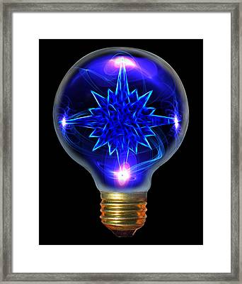 A Bright Idea Framed Print by Shane Bechler