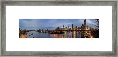 A Brisbane Story Framed Print by Az Jackson