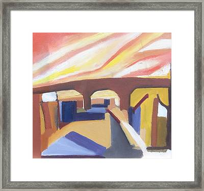 A Brooklyn Abstract Framed Print
