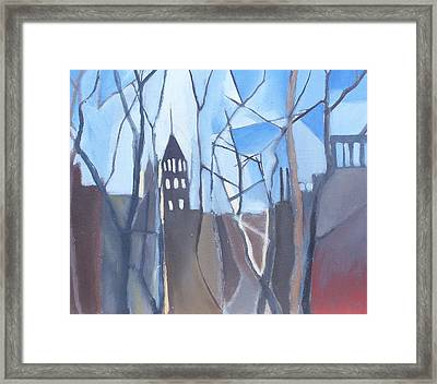 A Brooklyn Church Framed Print