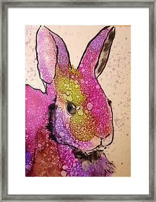 A Bunny Raggitt Framed Print