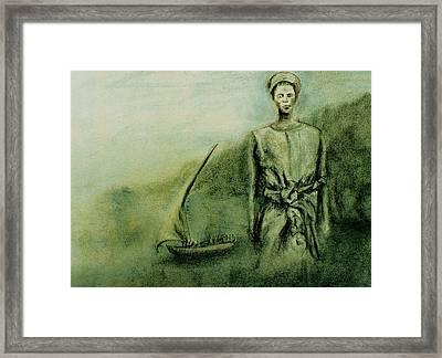 A Bunyakyusa Woman Framed Print by Mushtaq Bhat
