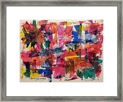 A Busy Life Framed Print