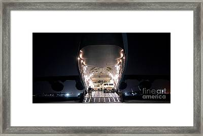 A C-17 Globemaster IIi Aircraft Framed Print by Stocktrek Images
