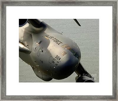 A C-17 Globemaster IIi Banks Framed Print