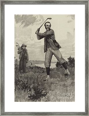 A Cabinet Minister's Holiday Framed Print by Henry Marriott Paget