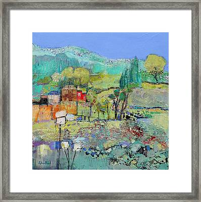 A Calm Day Framed Print by Sylvia Paul
