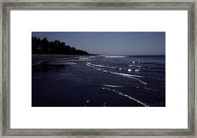 Framed Print featuring the photograph A Calm Evening by Maciek Froncisz