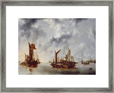 A Calm Framed Print by Jan van de Capelle