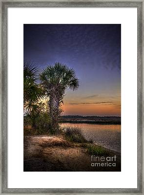 A Calm Reality Framed Print by Marvin Spates