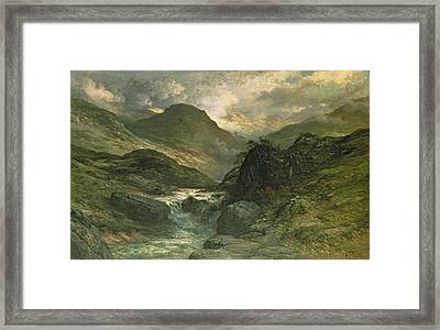 A Canyon Framed Print