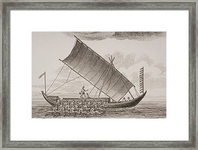 A Caracore From Borneo. From A Print Framed Print