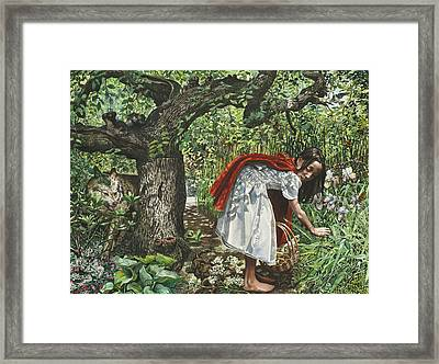A Cautionary Tale Framed Print by Fremont Thompson