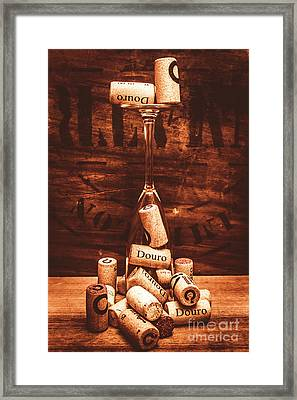 A Cellar Performance Framed Print