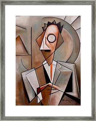 A Certain Man / Jean Toomer Framed Print by Martel Chapman