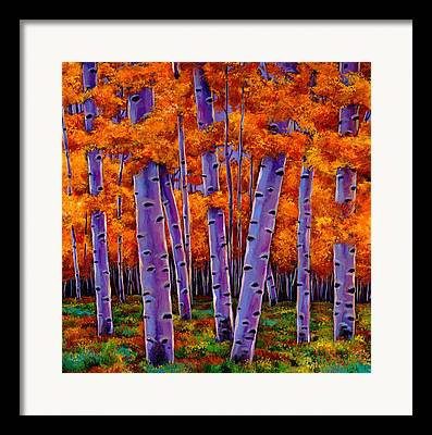 Autumn Tree Framed Prints