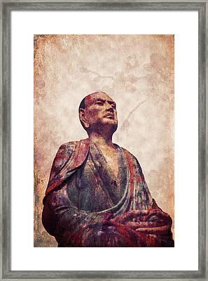 Buddha 5 Framed Print by Lynn Sprowl