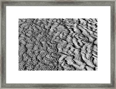 A Changing Tide Framed Print by Tim Gainey