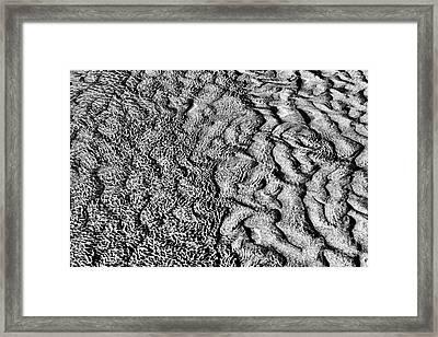 A Changing Tide Framed Print