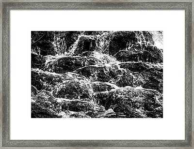 A Chaotic Passage Framed Print