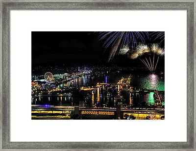 A Chicago 4th Framed Print by Andrew Soundarajan