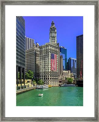 A Chicago Fourth Framed Print