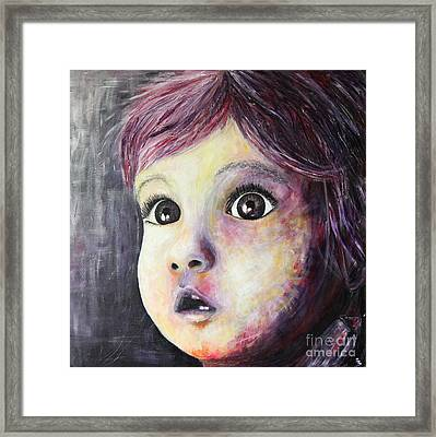 A Child Framed Print by Home Art
