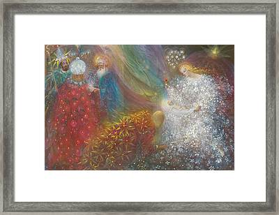 A Child Is Born Framed Print by Annael Anelia Pavlova