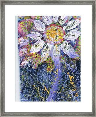 A Child Is Like A Flower Framed Print by Anne-Elizabeth Whiteway