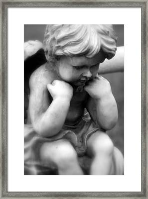 A Child Lost Framed Print