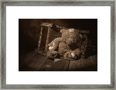 A Child Once Loved Me Framed Print