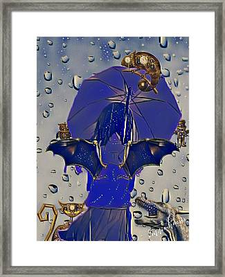 A Child's Invisibles Framed Print