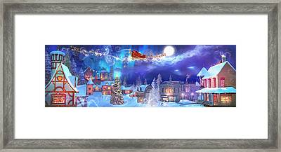 A Christmas Wish Framed Print