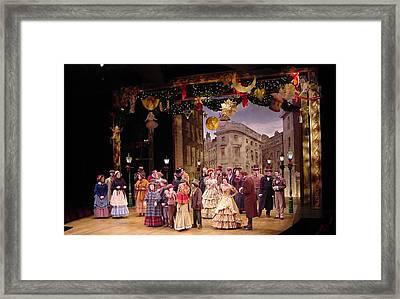 A Chrstmas Carol Framed Print