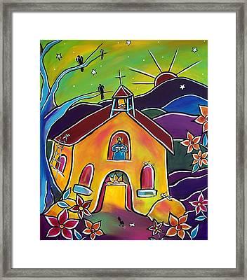 A Church For St. Francis Framed Print