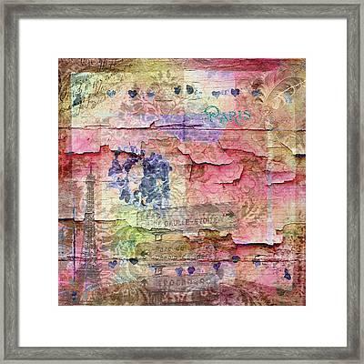 A City Besieged Framed Print