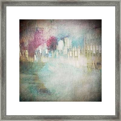A City Once #iphoneography Framed Print